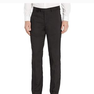 Axist Black Flat Front Straight Fit Dress Pant